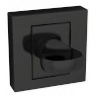 WC užraktas QUBIK II/PARVA, juoda
