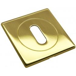 Rakto dangtelis Morelli Luxury Nature kvadratinis, auksas