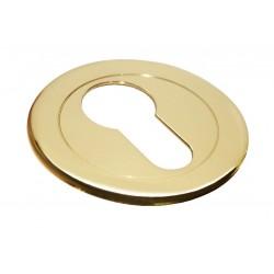 Cilindro dangtelis Morelli Luxury Nature apvalus, auksas