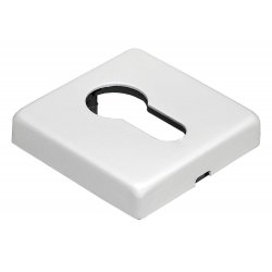 Cilindro dangtelis Morelli Luxury kvadratinis, baltas matinis