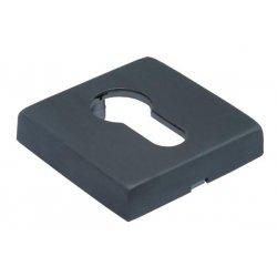 Cilindro dangtelis Morelli Luxury kvadratinis, juodas matinis (NERO)
