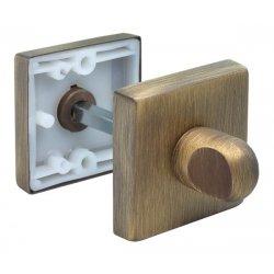 WC užraktas Morelli Luxury kvadratinis, žalvaris
