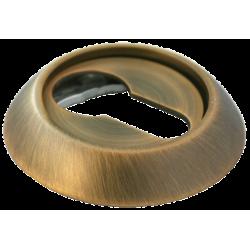 Cilindro dangtelis Morelli apvalus, tamsi bronza