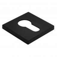 Cilindro dangtelis Morelli kvadratinis, MHS6PZBL juodas