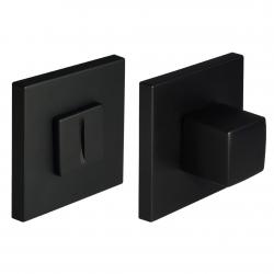 WC užraktas Morelli kvadratinis MHS6WCBL juodas