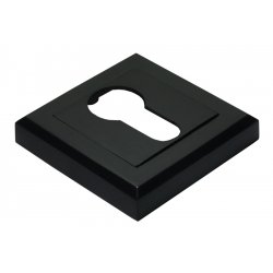 Cilindro dangtelis Morelli kvadratinis, juodas