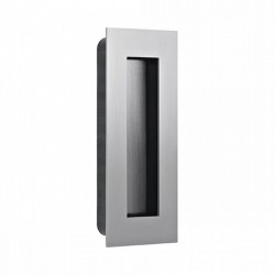 Slankiojančių durų sistemos rankena JNF IN.16.412, 135x55, nerūdijantis plienas