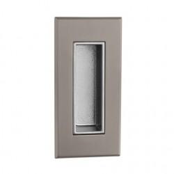 Slankiojančių durų sistemos rankena TUPAI 2650 Q, titanas