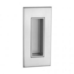 Slankiojančių durų sistemos rankena TUPAI 2650 Q, matinis chromas