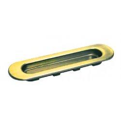 Slankiojančių durų sistemos rankena Morelli (iš vienos pusės), matinis auksas